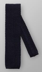Eton Uni Knitted Silk Donker Blauw Melange