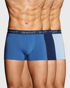 Gant 3Pack Seasonal Solid Shorts Poseidon Blue
