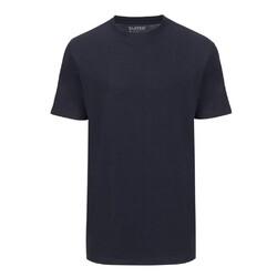 Slater Basic 2-pack T-shirt Round-Neck Navy