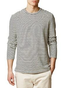 Maerz Striped T-Shirt Navy