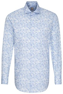 Jacques Britt Custom Business Floral Light Blue