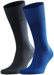 Falke Airport Sock 2-Pack Royal Blue