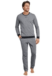 Schiesser Selected! Premium Pyjama Antraciet