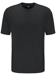Fynch-Hatton O-Neck T-Shirt Black