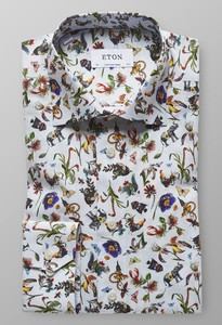 Eton Metamorphosis Shirt Multicolor