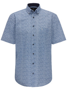 Fynch-Hatton Short Sleeve Fantasy Floral Navy