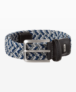 Brax Muticolor Woven Belt Grey Ocean