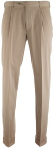 Hiltl Morello-U Cotton Twill Zand