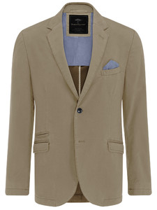 Fynch-Hatton Blazer Cotton Stretch Beige