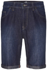 Gardeur John Jeans Bermuda Dark Denim Blue