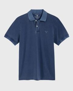 Gant Sunbleached Piqué Rugger Persian Blue