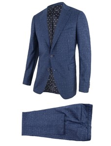 Cavallaro Napoli Roma Suit Blauw