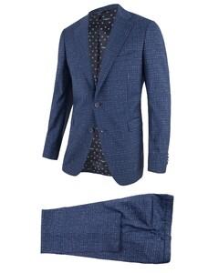 Cavallaro Napoli Roma Suit Blue