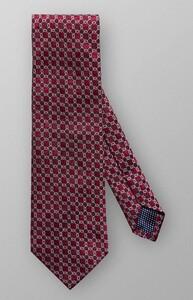Eton Interlinking Silk Redpink