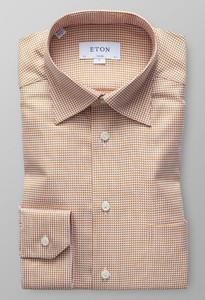 Eton Micro Weave Twill Multicolor