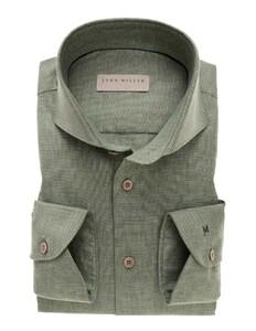 John Miller Uni Cutaway Cotton Midden Groen