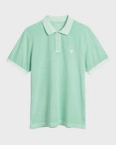 Gant Sunbleached Piqué Rugger Bay Green