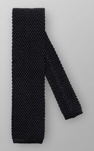 Eton Uni Knitted Silk Zwart