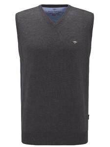 Fynch-Hatton Uni Slipover Superfine Cotton Charcoal
