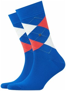 Burlington King Socks Lapis Blue