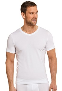 Schiesser Long Life Soft T-Shirt Wit