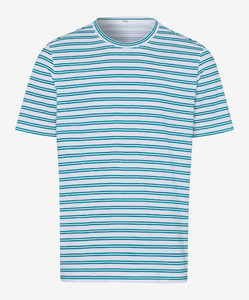 Brax Troy Striped Shirt Mint