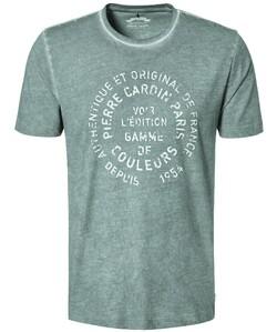 Pierre Cardin T-Shirt Denim Academy Groen Melange