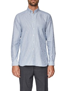Maerz Striped Button Down Whispering Blue
