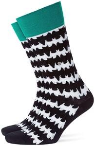 Burlington Bat Sock Zwart