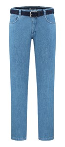 Com4 Swing Front Denim Licht Blauw