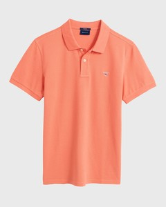 Gant Gant Piqué Polo Coral Orange