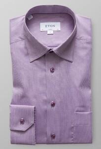 Eton Melange Oxford Shirt Warm Roze