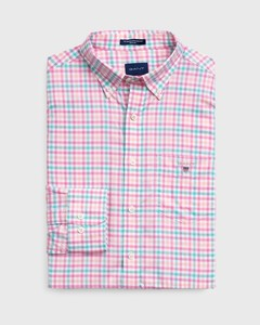 Gant The Broadcloth 3 Color Gingham Pink Rose