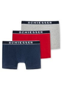 Schiesser 95/5 Shorts 3Pack Assorted