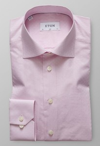 Eton Floral Natural Stretch Roze