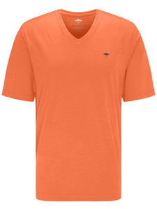 Fynch-Hatton V-Neck T-Shirt Mandarin