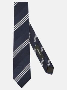 Seidensticker Diagonal Triple Stripe Navy