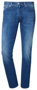 Pierre Cardin Lyon Jeans Tapered Futureflex Midden Blauw Melange