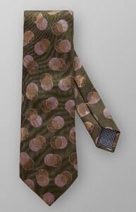 Eton Duo Circle Tie Donker Groen