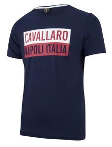 Cavallaro Napoli Augusto Tee Navy