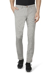 Gardeur Simon Two-Tone Effect Comfort Stretch Mid Grey