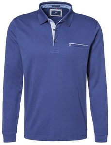 Pierre Cardin Longsleeve Polo Navy Blue