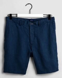 Gant Relaxed Linen Drawstring Short Insignia Blue