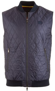 Paul & Shark Diagonal Step Body-Warmer Navy