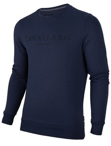 Cavallaro Napoli Mirko Sweat Navy