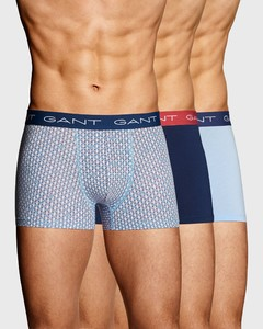 Gant 3Pack Signature Weave Capri Blue