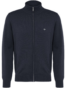 Fynch-Hatton Cardigan Zip Uni Navy