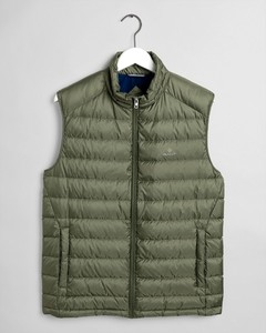 Gant The Light Down Bodywarmer Four Leaf Clover