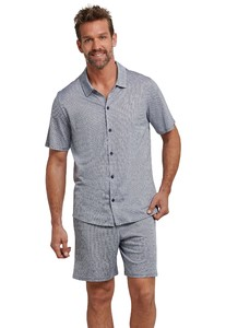 Schiesser Endless Summer Korte Pyjama Indigo