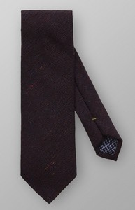Eton Blended Tie Burgundy Melange